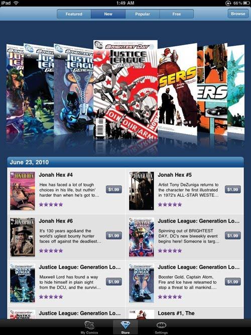 how to get comics on ipad