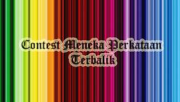 Contest Meneka Perkataan Terbalik(menang tempat ke-3