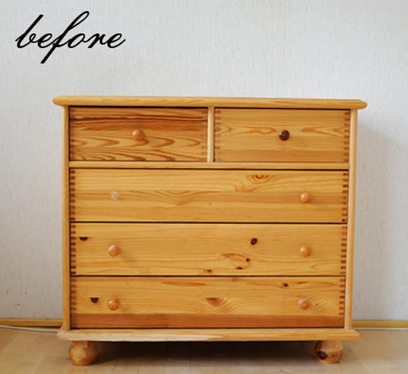 Miscel nea decora o moda e cia antes e depois - Tiradores para muebles antiguos ...