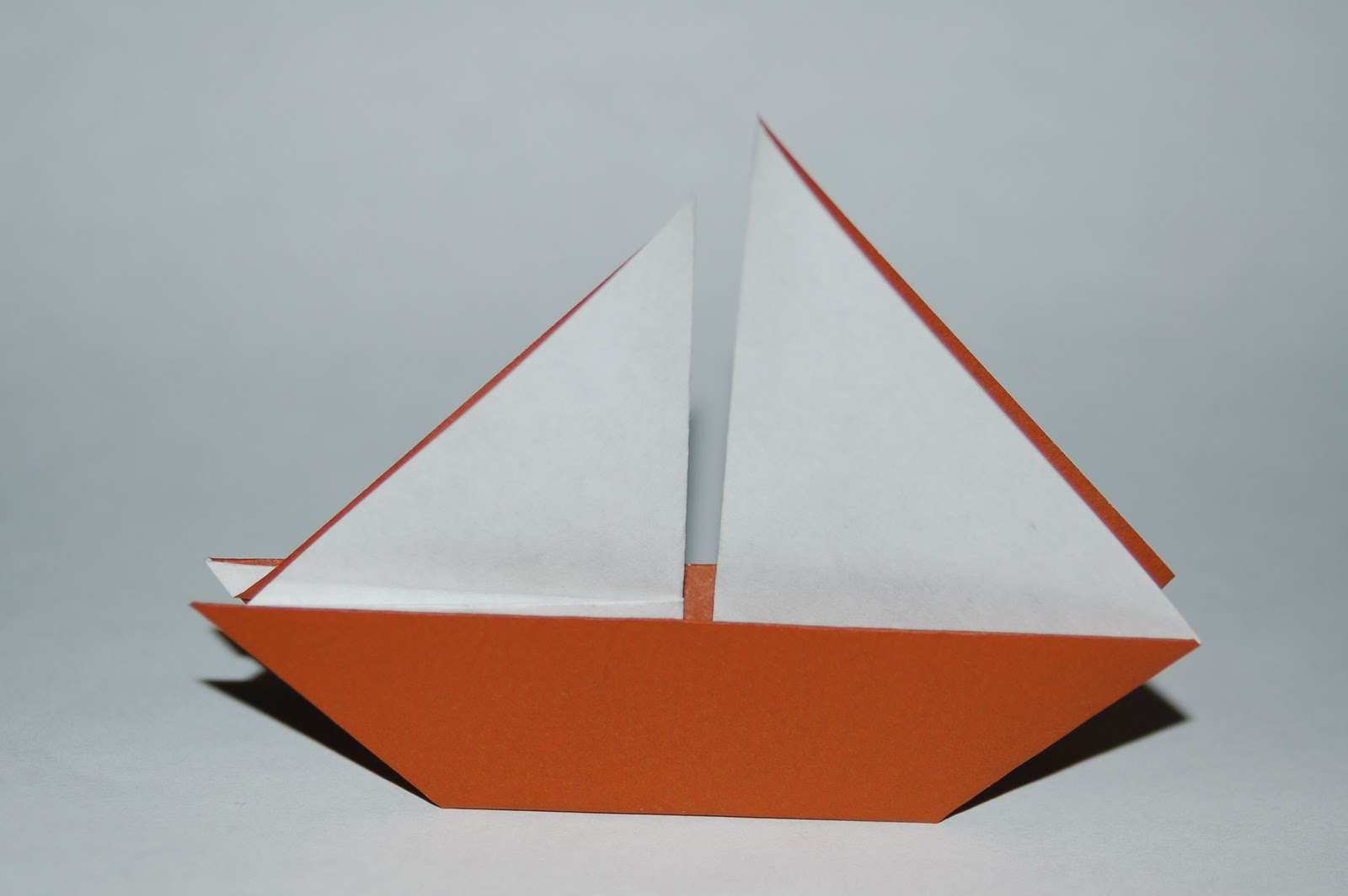living the craft life origami sailboat