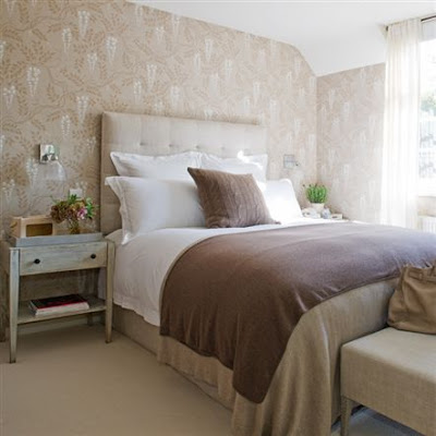 Spare Bedroom Ideas on Love These Browns And Creams For A Spare Bedroom