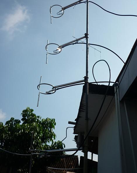Antenna OMB Single Ring 4 Bay, Power Devider N,Jumper