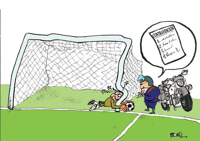 El_Silencio : Mensaje: [Caricatura periodística de BONIL] Arrancó ...