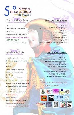 5 Festival de las Culturas Populares