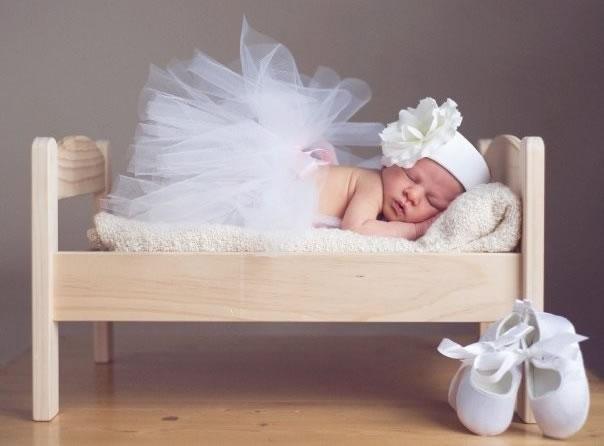 Пачка для новорожденных своими руками