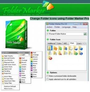 ������ ����� ��� ��� �������� ����� ����� Folder Marker Pro v3.2.0
