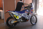 Moto KTM 650 Team Red Bull