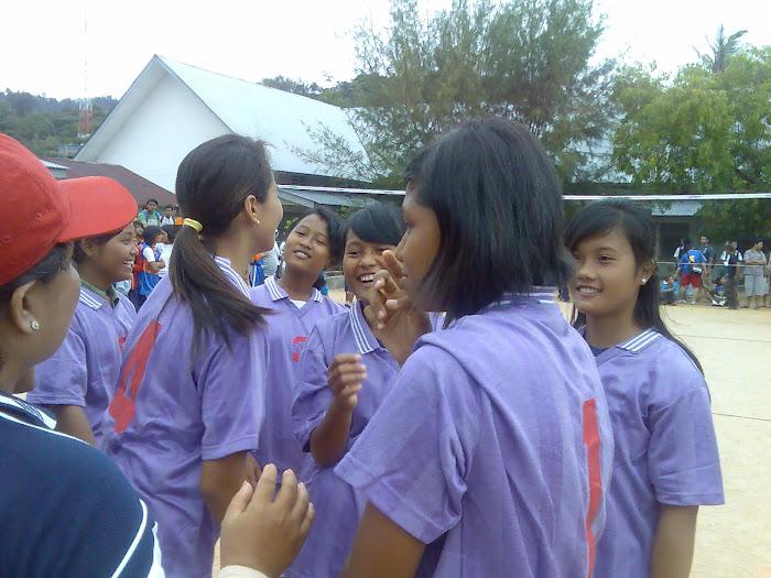 Volly Perempuan SMP Negeri 1 Sibolga
