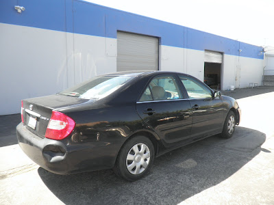 Toyota Camry collision repair at Almost Everything Autobody