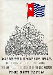 Bintang Kejora di Atas Tulang Belulang Rakyat Papua Barat!!