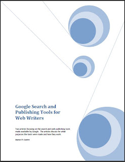 Snapshot of cover of the PDF ebook Google Search and Publishing Tools for Web Writers