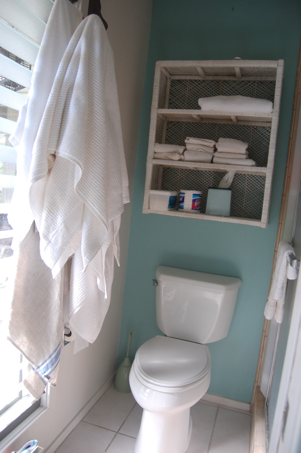 The Fab Miss B Before After Mini Bathroom Makeover - Mini bathroom makeover