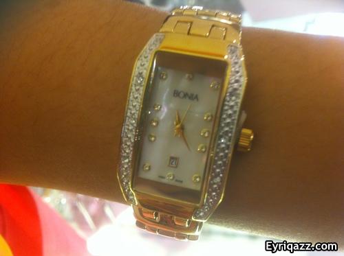 jam untuk wanita on Jam Tangan Bonia Hadiah Anniversary Buat Isteri | Eyriqazz.com