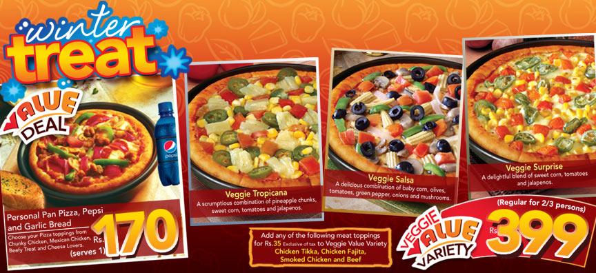 Meals Deals Winter Treat 2010 By Pizza Hut