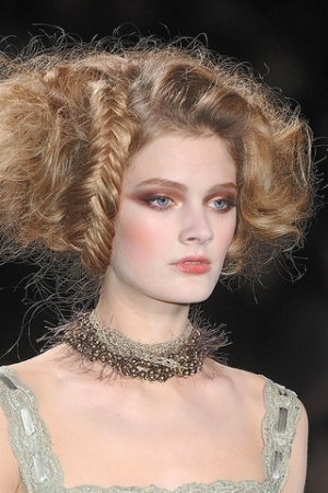 Hairstyles With Gowns. braid hairstyles, gowns
