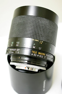 Tamron SP 500mm f/8.0 adaptall-2 55BB