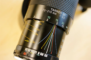Tamron SP 70-210mm f/3.5 adaptall-2 19AH