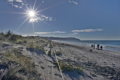 waihi beach with pentax k-x and pentax da 15mm f/4.0 limited