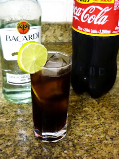 Cuba Libre. A whole party can go on with just this.