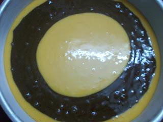 Chocolate Marble Layer Cake