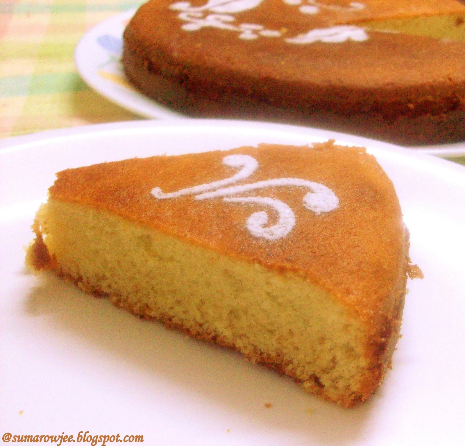 Sponge Cake Without Weighing Scales