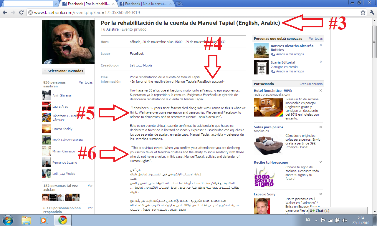 Spain, Israel and the Jews: Manuel Tapial's Facebook account has ...