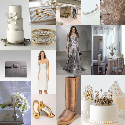 In the inspiration board I used pictures from Martha Stewart Weddings