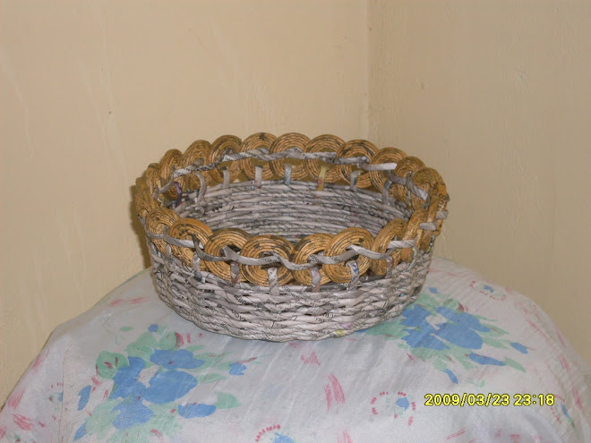 cesta con aritos