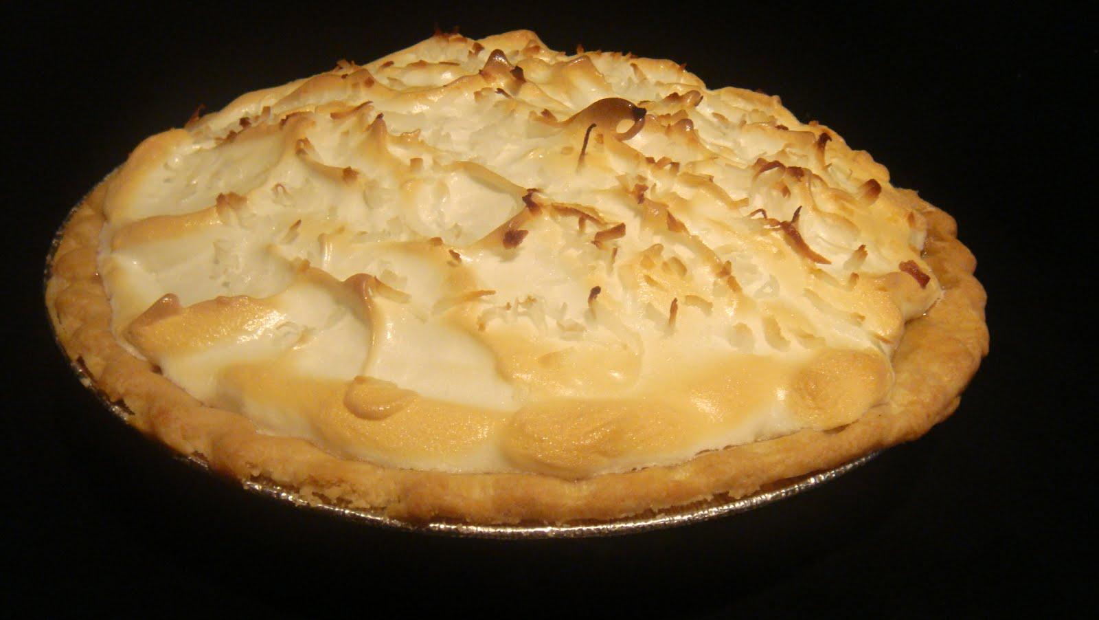 Coconut Cream Pie Recipe — Dishmaps