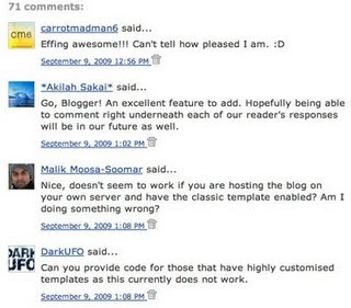 Blogger Comments Avatar