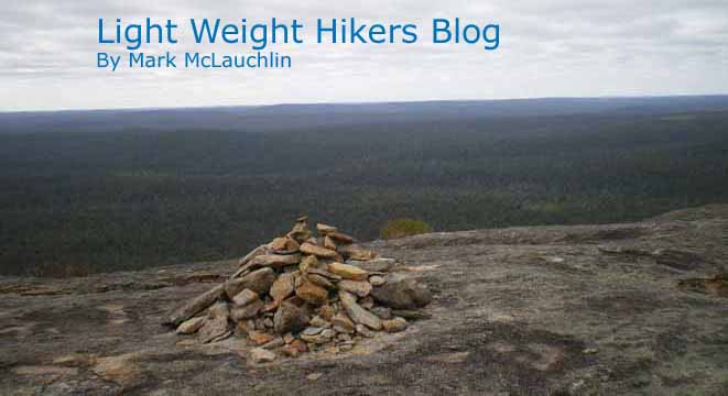 Light Weight Hikers Blog by Mark McLauchlin