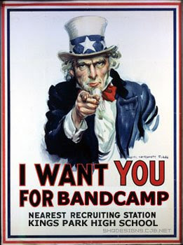 Even Uncle Sam wants you to play music