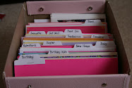How I Organize Greeting Cards...