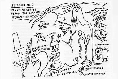 Randolph Carter sfida i demoni di Baal-Naplong