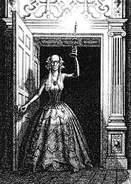 Madame de la Rougierre, illustrazione