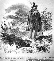 Illustrazione da Wagner the Wehr-Wolf, 1846-47