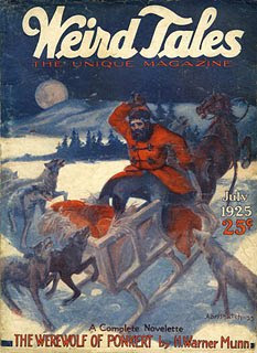 Weird Tales, luglio 1925, copertina