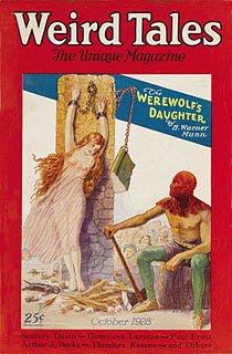 Weird Tales, ottobre 1928, copertina