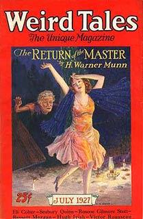 Weird Tales, luglio 1927, copertina