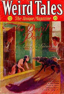 Weird Tales, giugno 1932, copertina