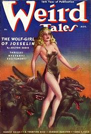 Weird Tales, agosto 1938, copertina