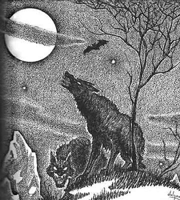 Illustrazione di Boris Dolgov in Weird Tales, settembre 1942
