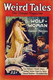 Weird Tales, settembre 1927, copertina