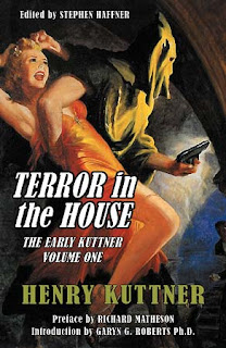 Terror in the House: The Early Kuttner, Volume One, 2010, cover