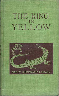 The King in Yellow, I ed. 1895, copertina