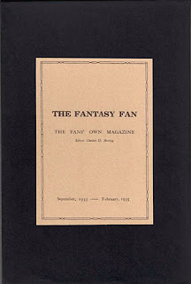 The Fantasy Fan, 2010, cofanetto
