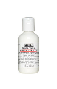 kiehls ultra facial moisturizer spf 15, moisturizer, daily sunscreen, spf 15, review