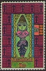 BUDDHIST GODDESS STAMPS