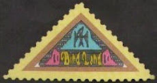 THE BIRDLAND TRIANGLES: cinderella stamps