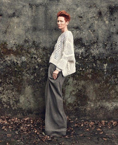 tilda swinton pringle. tilda swinton pringle. Tilda Swinton is a goddess in